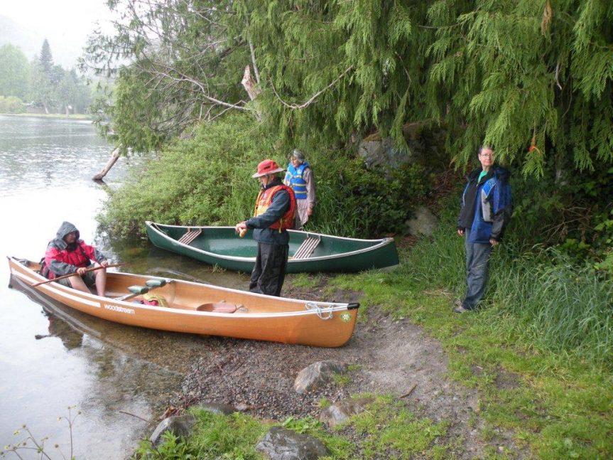 Birding by canoe