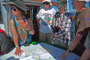 Sabina Leader-Mense in her native habitat. Hernando Reef trip, 2014. - A. Bryant