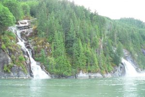 Waterfalls in Toba Inlet, 2008 - H. Harbord