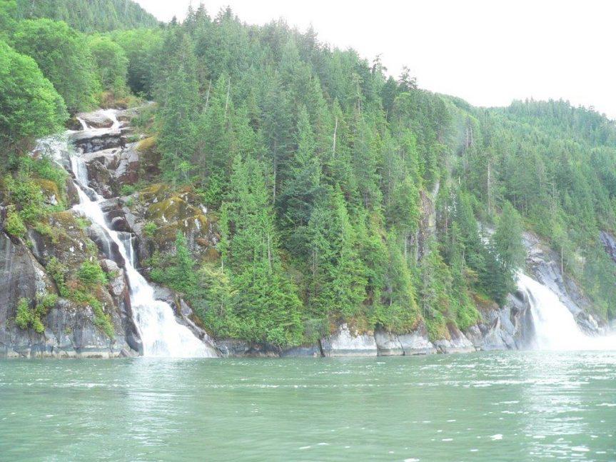 Waterfalls in Toba Inlet, 2008 - H. Harbord