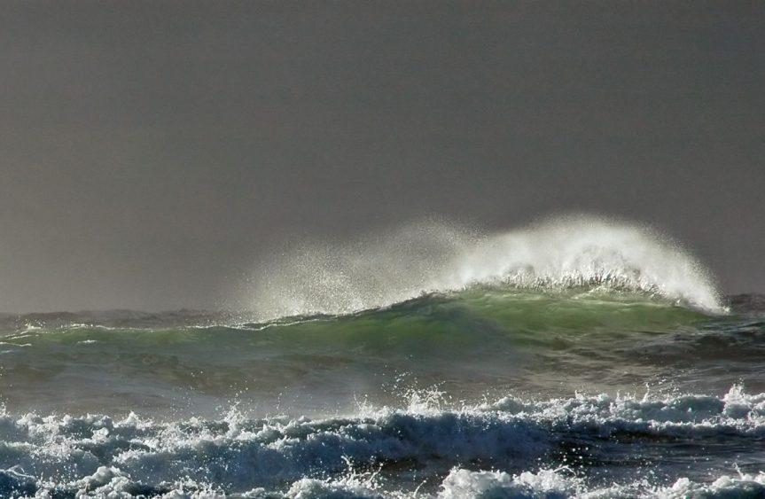 Nice surf at Long Beach - A. Bryant