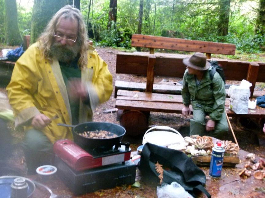 Mushroom cook-out