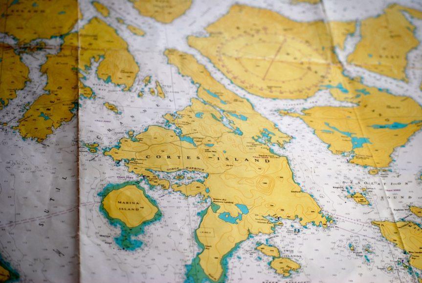 Cortes Island geology