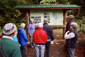Malaspina Naturalists at Lang Creek Hatchery #3 30 Sept 2017 - L. Bridger