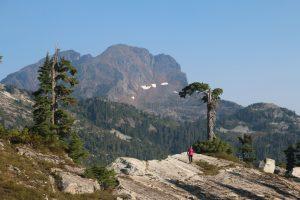 Slide Mtn (2100m) with its unique geology - Tom Koleszar