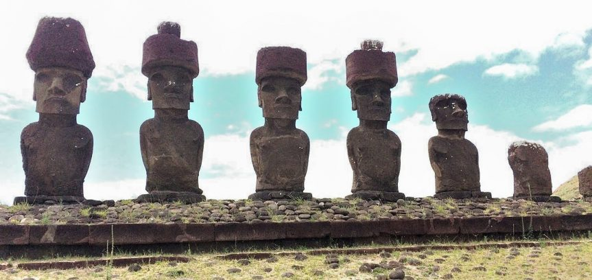 "Barbara Sherriff ""Moai and volcanoes of Easter Island…and Patagonian glaciers"""